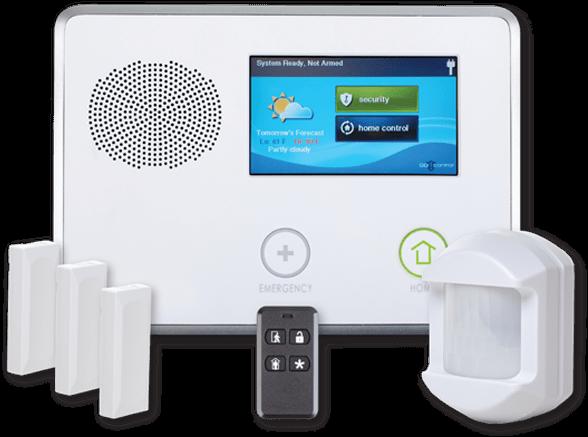 Interactive Security through Alarm.com 1